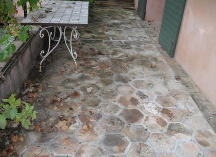 Décapage et traitement sol terrasse terre cuite extérieure Grasse 06